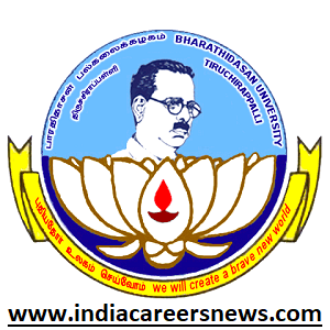 Bharathidasan University Recruitment