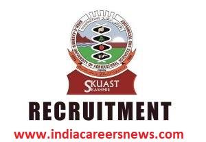 SKUAST Recruitment