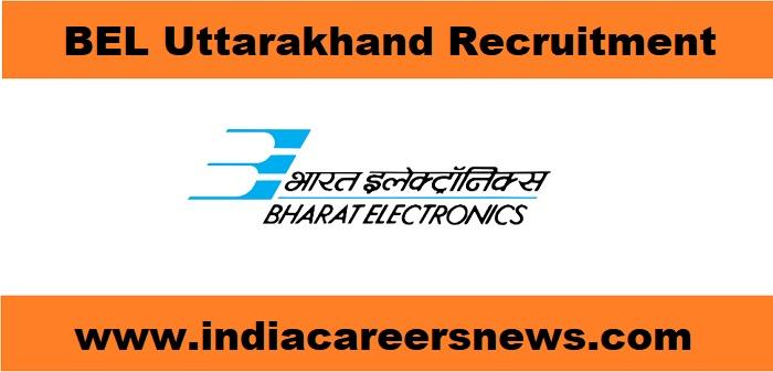 BEL Uttarakhand Recruitment