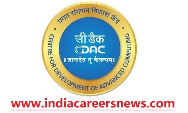CDAC Noida Recruitment