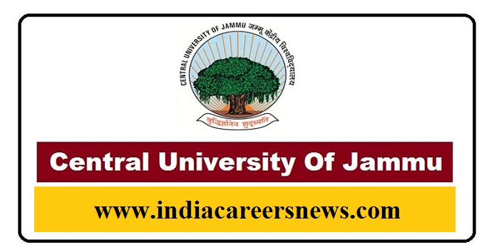 Central University Of Jammu Recruitment