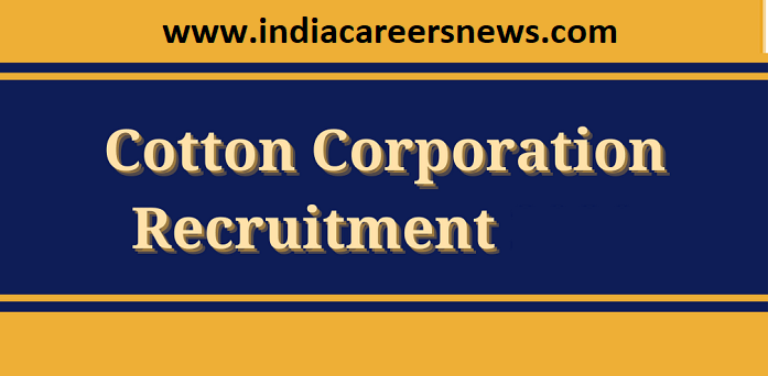 Cotton Corporation Of India Limited Recruitment