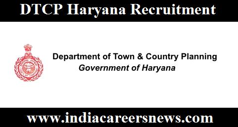 DTCP Haryana Recruitment