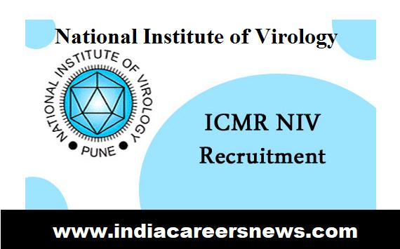 ICMR-NIV Kerala Recruitment