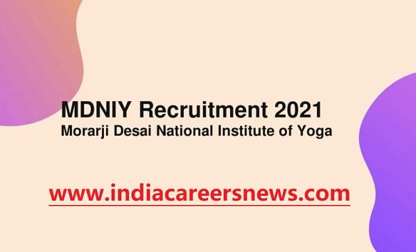 MDNIY Recruitment