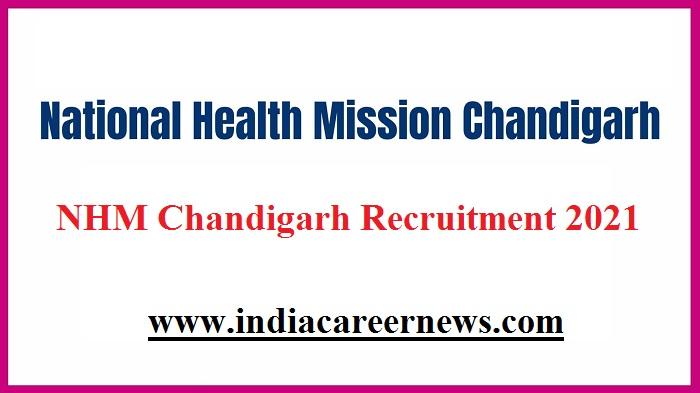 NHM Chandigarh Recruitment