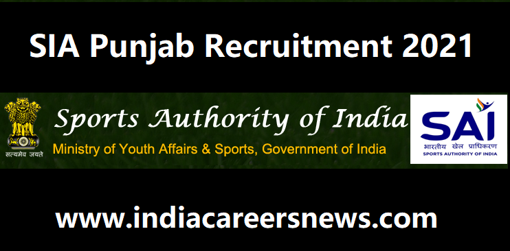 SAI Punjab Recruitment