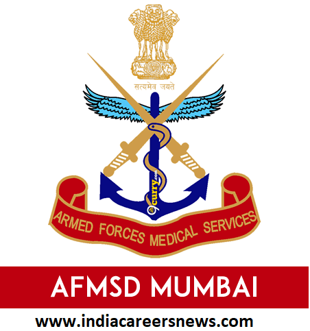 AFMSD Mumbai Recruitment