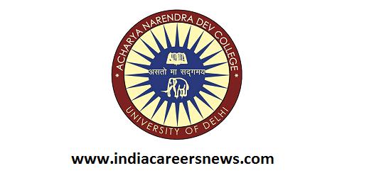 AND College Delhi Recruitment