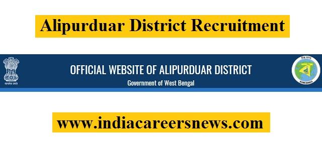 Alipurduar District Recruitment