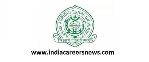 Assam Agricultural University Recruitment