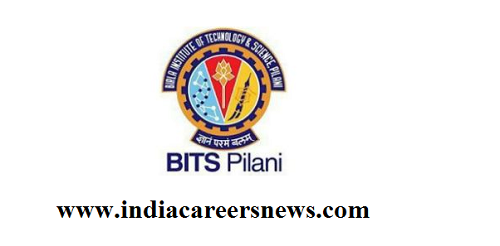 BITS Pilani Recruitment