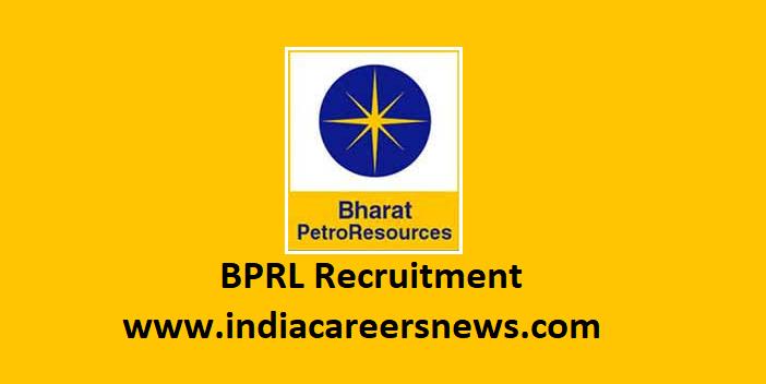 BPRL Recruitment