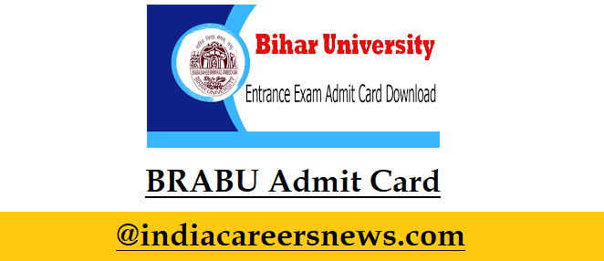 BRABU Admit Card