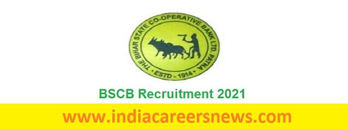 BSCB Recruitment