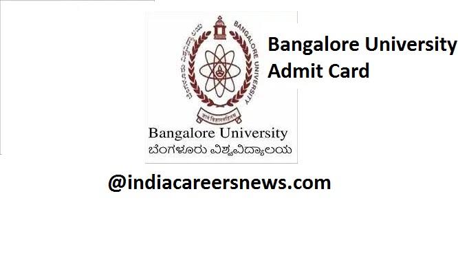 Bangalore University Admit Card