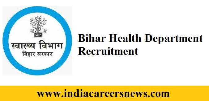 Bihar Health Department Recruitment