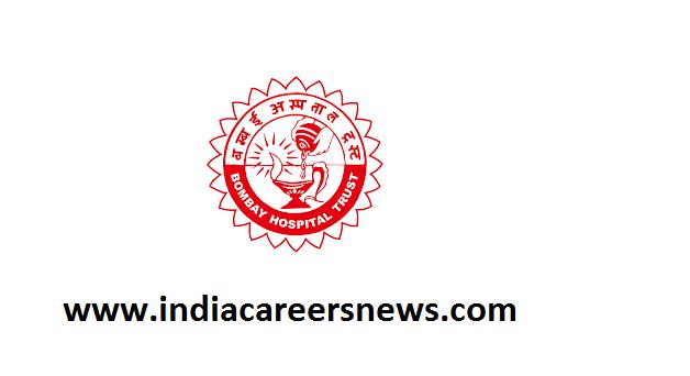 Bombay Hospital Institute of Medical Sciences Recruitment