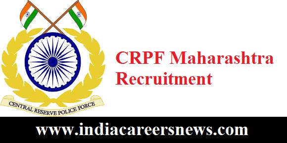CRPF Maharashtra Recruitment