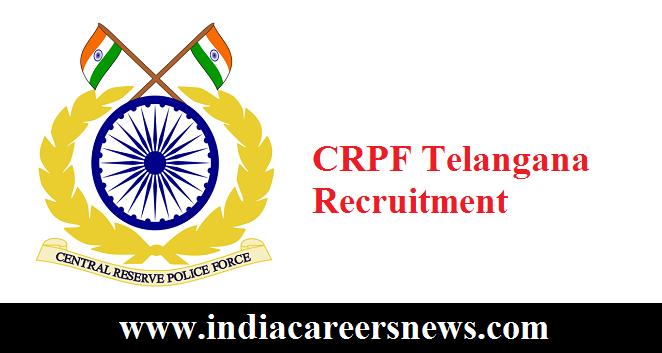 CRPF Telangana Recruitment