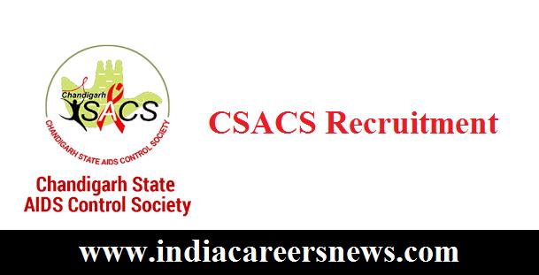 CSACS Recruitment