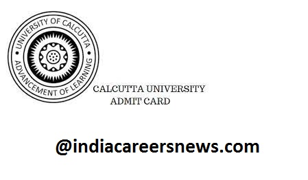 Calcutta University Admit Card