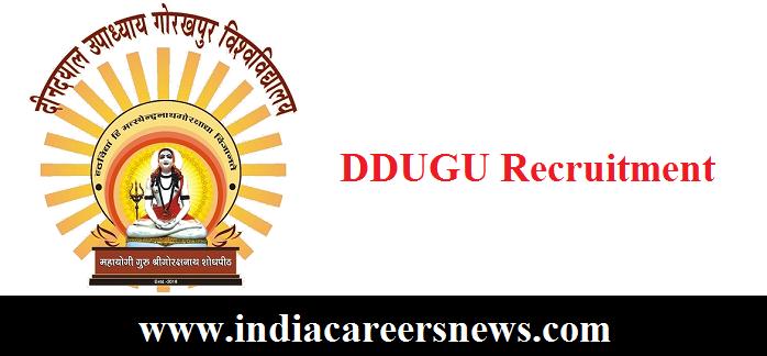 DDUGU Recruitment
