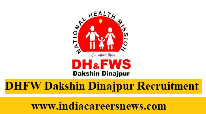 DHFW Dakshin Dinajpur Recruitment