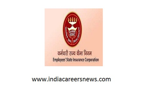 ESIC Manesar Recruitment