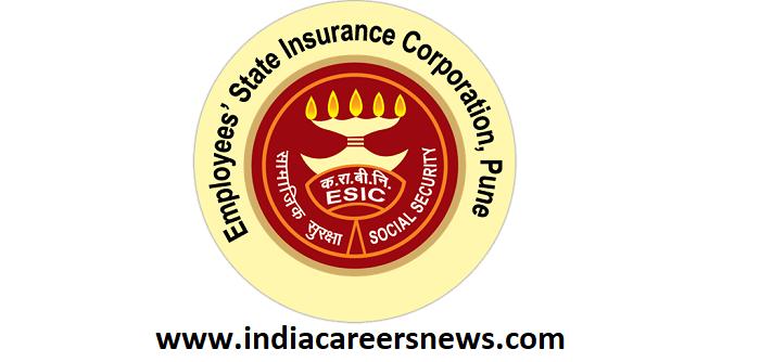 ESIC Pune Recruitment