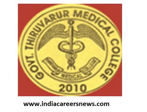 Government Thiruvarur Medical College Recruitment