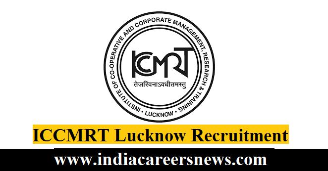 ICCMRT Lucknow Recruitment