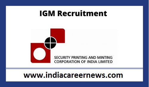 IGM Hyderabad Recruitment