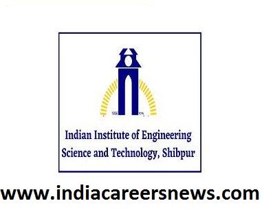 IIEST Shibpur Recruitment