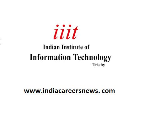 IIIT Tiruchirappalli Recruitment