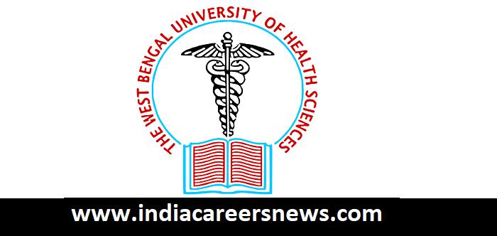 JNM Hospital Kalyani Nadia (WBUHS) Recruitment