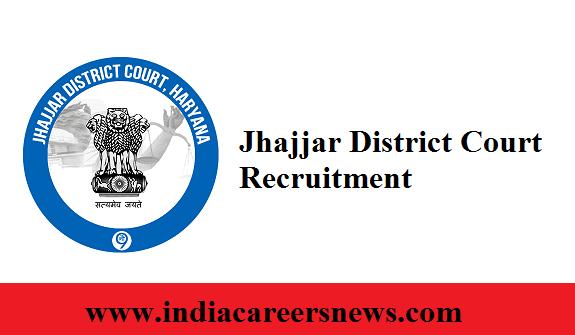 Jhajjar District Court Recruitment