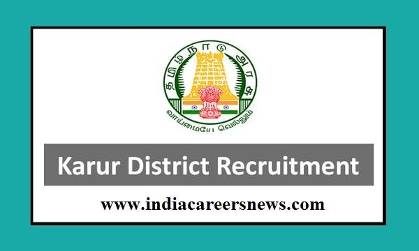 Karur District Recruitment