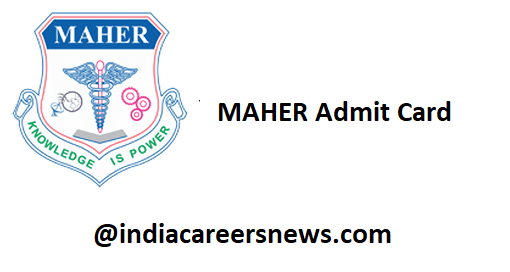 MAHER Admit Card