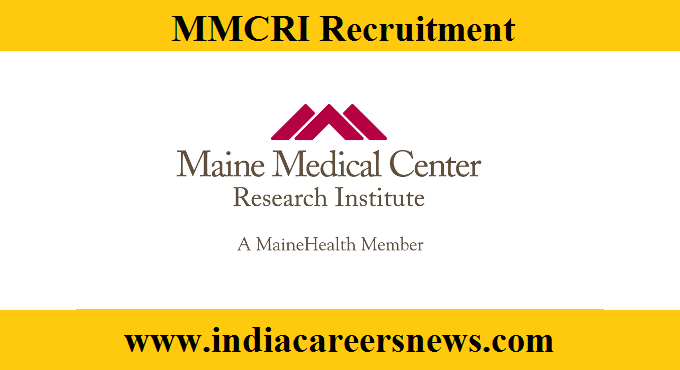 MMCRI Recruitment