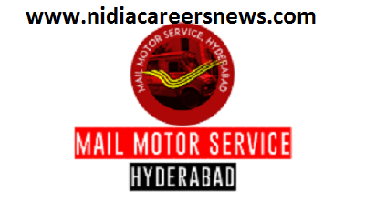 Mail Motor Service Hyderabad Recruitment