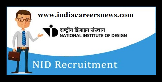 NID Kurukshetra Recruitment