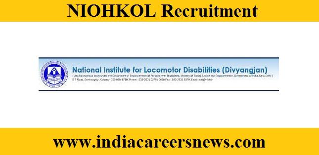 NIOHKOL Recruitment