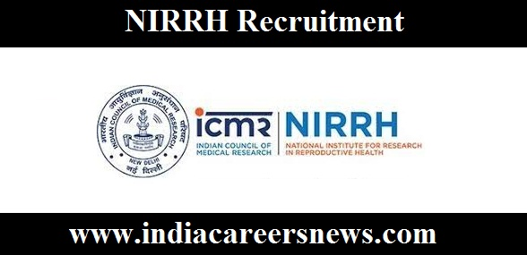 NIRRH Recruitment