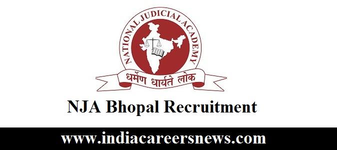 NJA Bhopal Recruitment