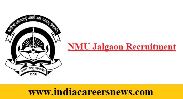 NMU Jalgaon Recruitment