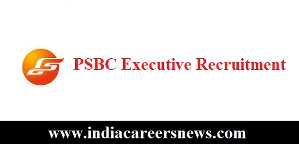 PSBC Executive Recruitment