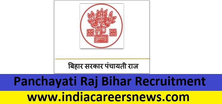 Panchayati Raj Bihar Recruitment