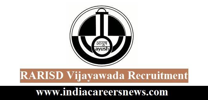RARISD Vijayawada Recruitment