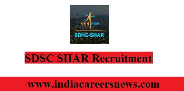 SDSC SHAR Recruitment